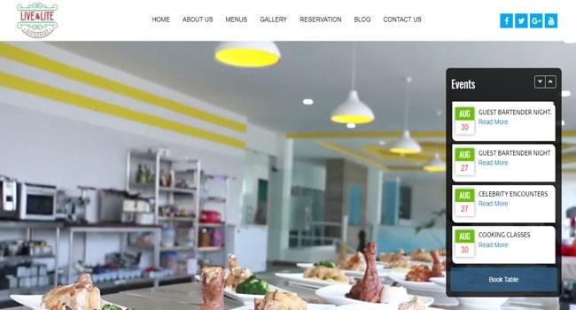 Live & Lite Restaurant