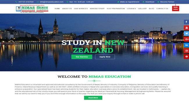 NIMAS EDUCATION CONSULTANCY
